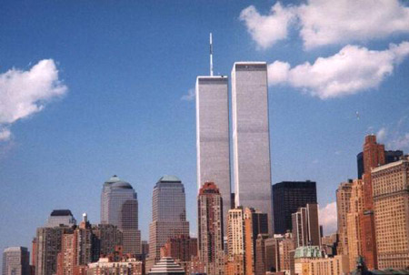 The Twin Towers, August 1998