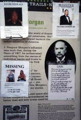 Posters of the missing
